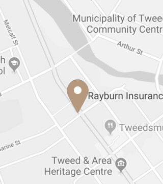 Location of Rayburn Insurance Mobile Image